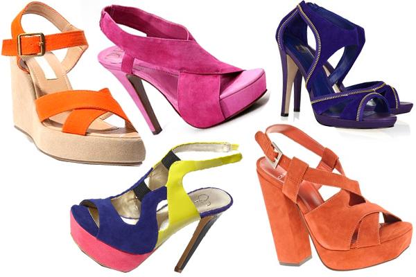 Topuklu Yazlık Ayakkabı Çeşitleri